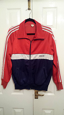 Vintage Adidas tracksuit top 1980s