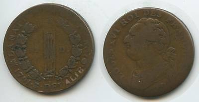 G1868 - France Constitution 12 Deniers 1791 (An3) Ludwig XVI. 1774-1793 France