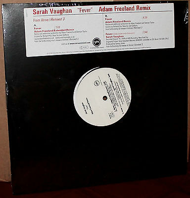 VERVE LP: SARAH VAUGHAN - Fever, Adam FREELAND VERVE ReMixed 3 - 2005 USA SEALED