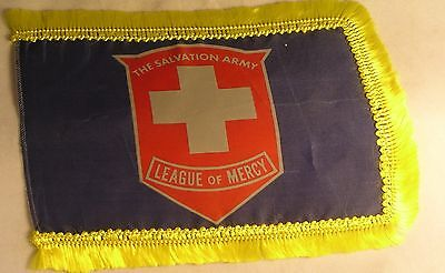 Salvation Army - LEAGUE OF MERCY TABLE FLAG