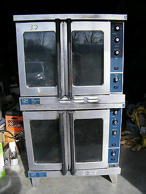 Duke Double Stack Gas Convection Oven Model E102-G