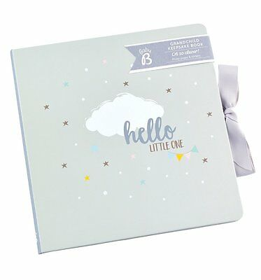 NEW! Busy B Baby Grandchild Keepsake Journal Book
