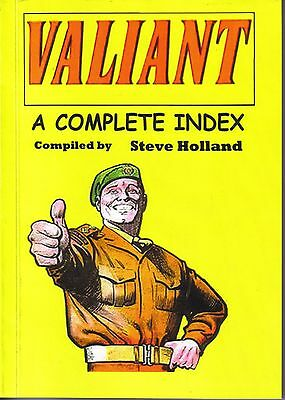 Valiant - A Complete Index To The Valiant Comic Fully Illustrated