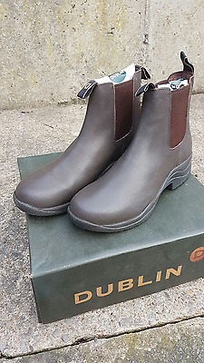 New Dublin Leather Jodhpur Boots Brown Size 5-6-6.5-7-8 Clearance