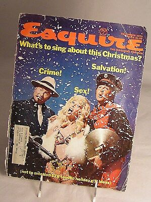 Salvation Army - 1973 COVER OF ESQUIRE MAGAZINE FEATURING S A