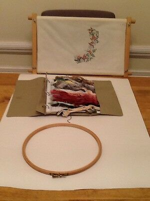Embroidery Frames and Threads
