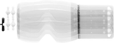 Scott USA Prospect Goggle Works Tear-Offs 20 Pack Clear