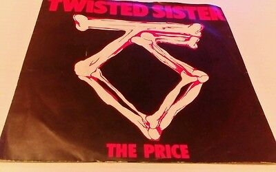 Twisted Sister, the price, vinyl single, vg ex