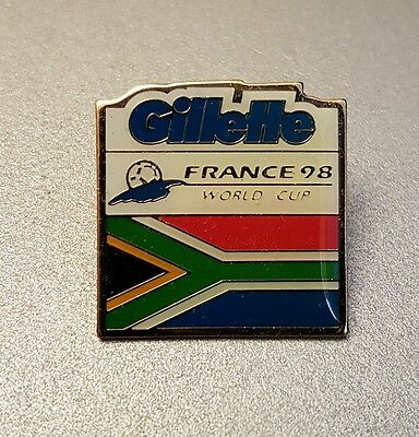 World Cup 98 Gillette South Africa Badge