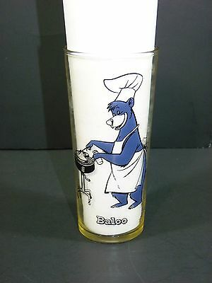 Jungle Book Baloo The Bear Disney Collectors Glass Number Three Copyright 1966