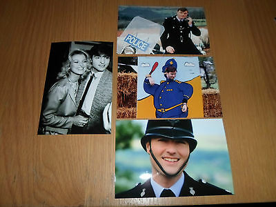 Nick Berry & Gillian Taylforth 6x4 Photograph Set. Tv Actor Heartbeat Eastenders