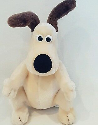 "Wallace and Gromit Gromit dog Aardman  13""~soft toy plush"