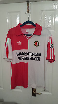 1992-94 Feyenoord FC football home shirt trikot size large
