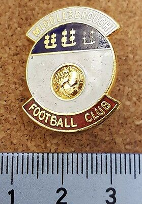 Middlesbrough COFFER London football pin badge