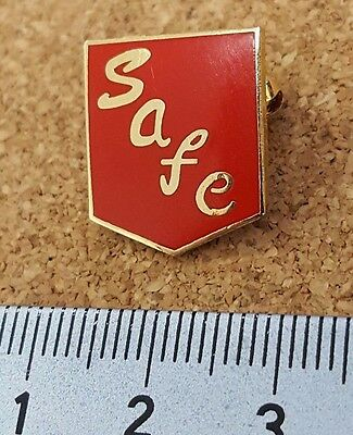 Sunderland SAFC Red Gold football pin badge