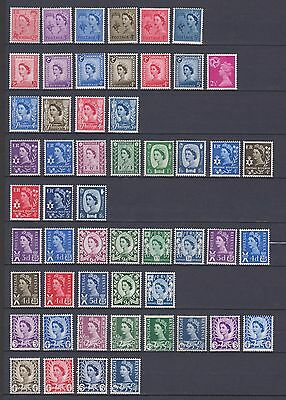 Gb Regionals Selection (Pre-Decimal) -  Mnh/mm - (See Scan For Details)