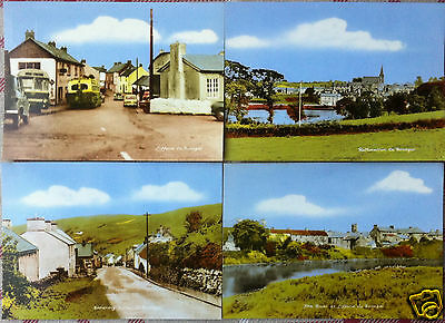 8 x DONEGAL POSTCARDS FROM 1960's IRISH POSTCARD IRELAND DONEGAL PUBLISHER PK 7