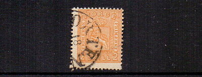 NORWAY 1867 2sk ORANGE-BUFF SG24 FINE USED CAT £75
