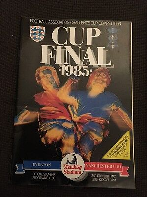 Everton v Manchester United 1985 FA Cup Final