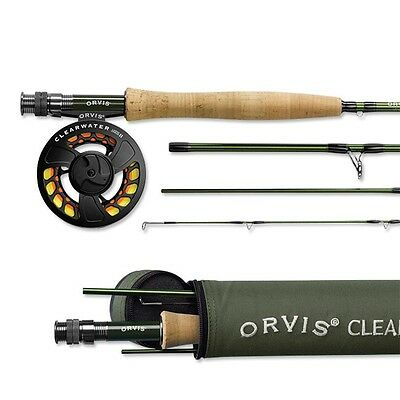 Orvis Fly Fishing Clearwater Fly Rod Outfit With Case