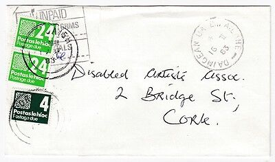 Ireland 1983 postage due - Daingean Co Offaly