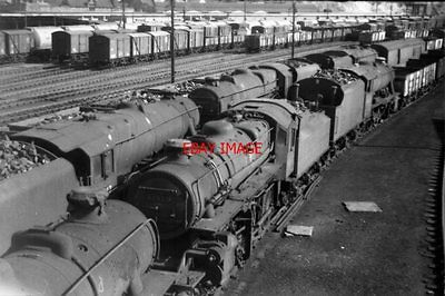 Photo  Lms Loco No 43023 At Workington In 1967