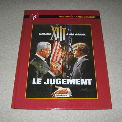 "Xiii ""le Jugement"" Edition Limitee 1998 Vance Tbe,13 ,treize,dargaud"