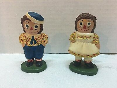Raggedy Ann and Andy Collectible Figurines