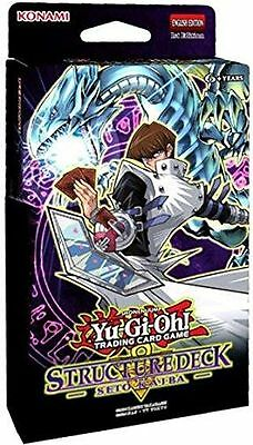 Yu-Gi-Oh! Seto Kaiba 1st Edition Structure Deck ONLY 40 CARDS FREE SHIPPING