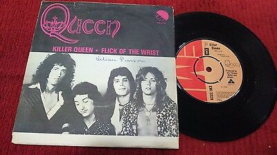 "Queen- Killer Queen Mega Rare Swedish 7"" First Single"