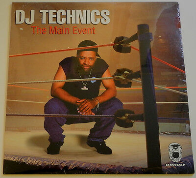 Lp Us**dj Technics - The Main Event (Big Play Ent. '98 / Sealed)***21274
