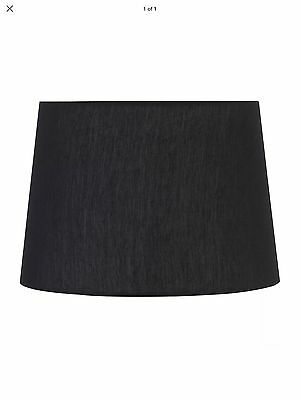 LAMPSHADE BLACK - LARGE SIZE - Suit Lounge, Study, Family Room.