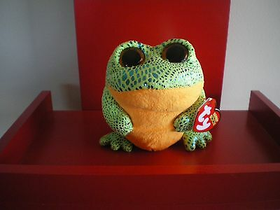 Ty Beanie Boos SPECKLES the frog 6 inch  NWMT.  BRAND NEW.