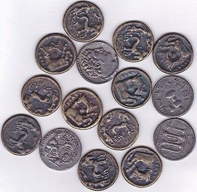 Group of 15 Ancient Coins Copies
