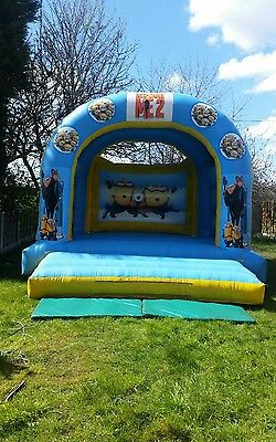 Adult Minions Bouncy Castle 15' x 16'
