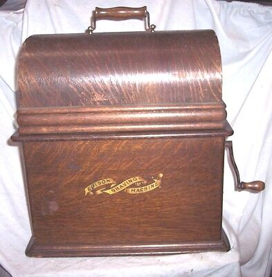 Edison Phonograph Shaver With Drawer