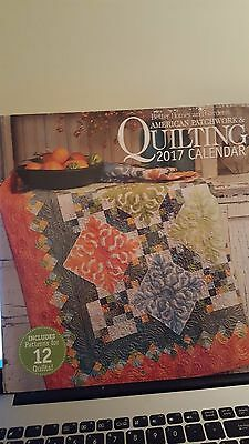American Patchwork and Quilting 2017 Wall Calender - NIP