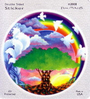 STICKER - DAWNING - TREE OF LIFE DECAL 115mm Wicca Witch Pagan