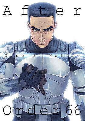 "STAR WARS, THE CLONE WARS Doujinshi ""After Order 66 - Case of Wolffe"""