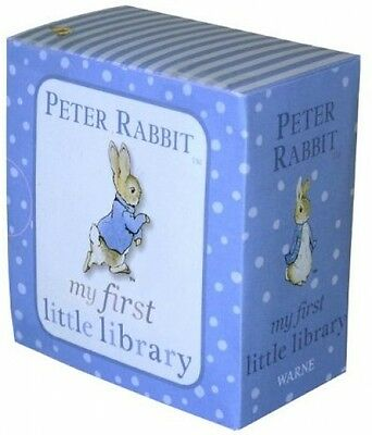 Peter Rabbit My First Little Library - Book by Beatrix Potter (Board Book, 2011)