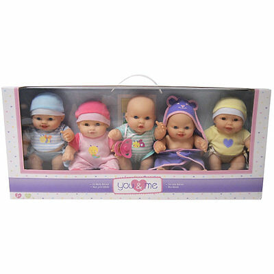 """You & Me So Many Babies, 9"""" Childrens Baby Dolls Set, Only at Toys R Us"""