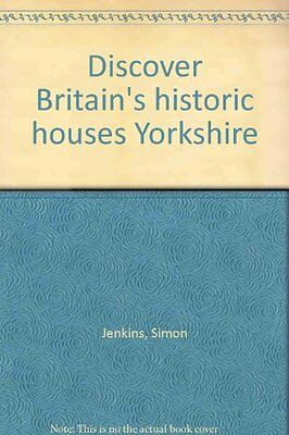 !Ex-Library!,',Yorkshire (Discover Britain's Historic Houses),Simon Jenkins