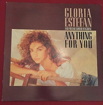 Gloria Estefan And The Miami Sound Machine, Anything For You, Vinyl Lp