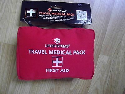 Lifesystems Travel Medical Pack - First Aid new unopened,  45 items