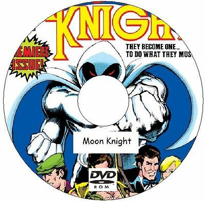 Moon Knight Comic Collection 184 Issues on DVD Marc Spector Shadowloand