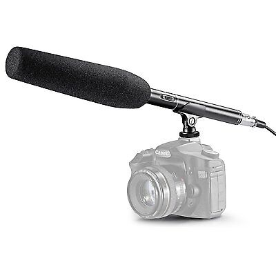 "Neewer 14.17"" Camera Camcorder Shotgun Mic Microphone For Sony Canon Nikon"