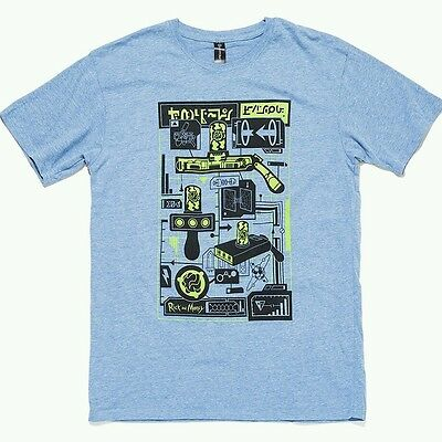 Rick and Morty T Shirt / lootcrate exclusive / size M