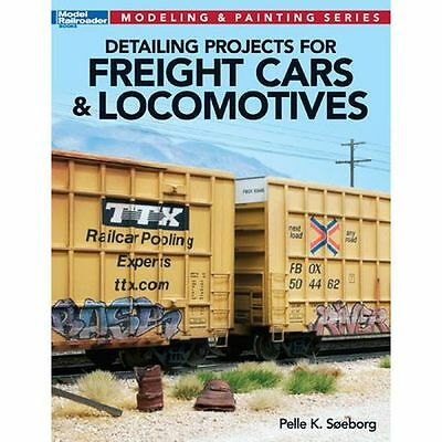 Kalmbach 12477 Book: Detailing Projects for Freight Cars & Locomotives