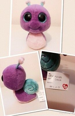 One Of A Kind Snail Ty Prototype Beanie Boo Boos