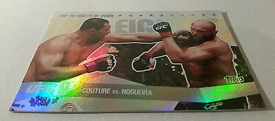 Topps 2010 UFC Main Event TT09 Couture vs Nogueira